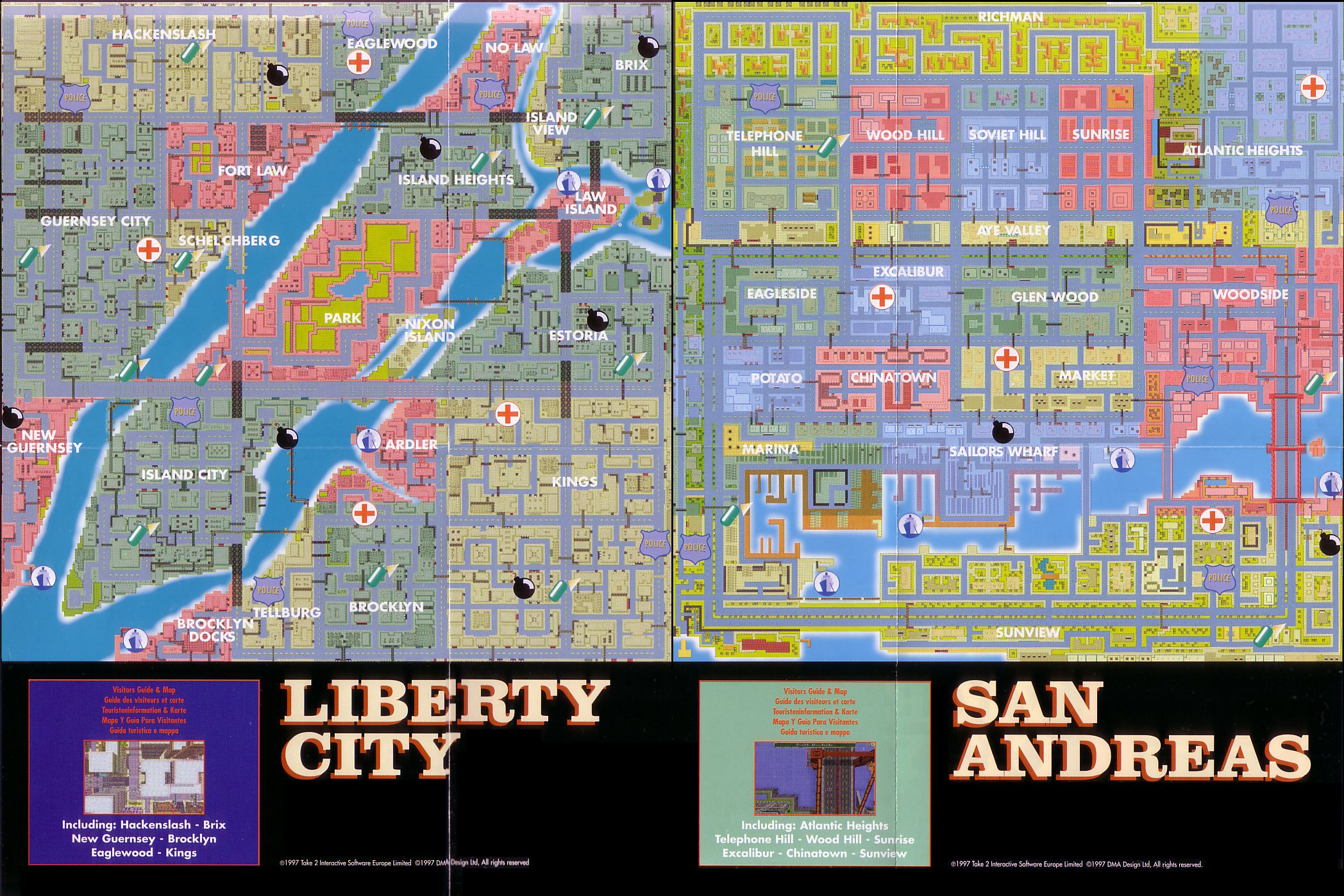Map of Liberty City & San Andreas. (Clic) | R* | City ... San Andreas City Map on insurgent city map, san andreas airport, hancock city map, grand theft auto 5 city map, san andreas unique stunt jumps, san andreas art, san andreas movie, san andreas stunt jumps insane, san andreas unique jump 1, gta map,