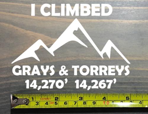 Grays /& Torreys Decal Sticker