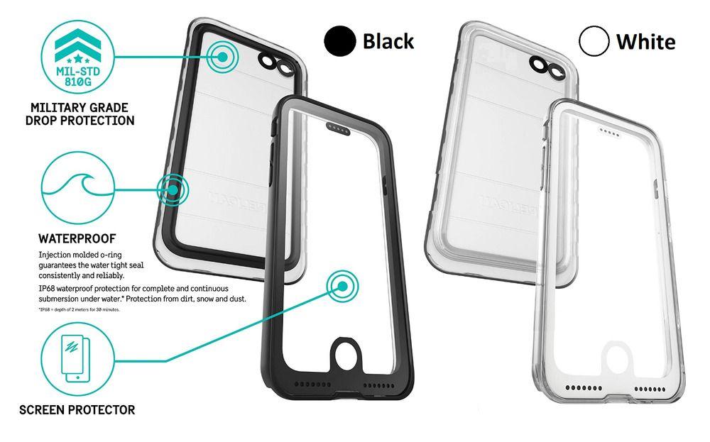 Pelican iphone 8 7 6s 6 marine heavy duty case waterproof