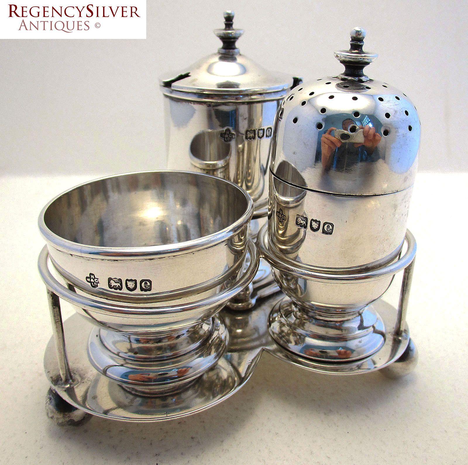 Kitchen Decor 1930s Unique Serving Spice Pot Gift For Home,#0219JWc Vintage Pepper Pot Silver Plated Made England Antique Pepper Pot