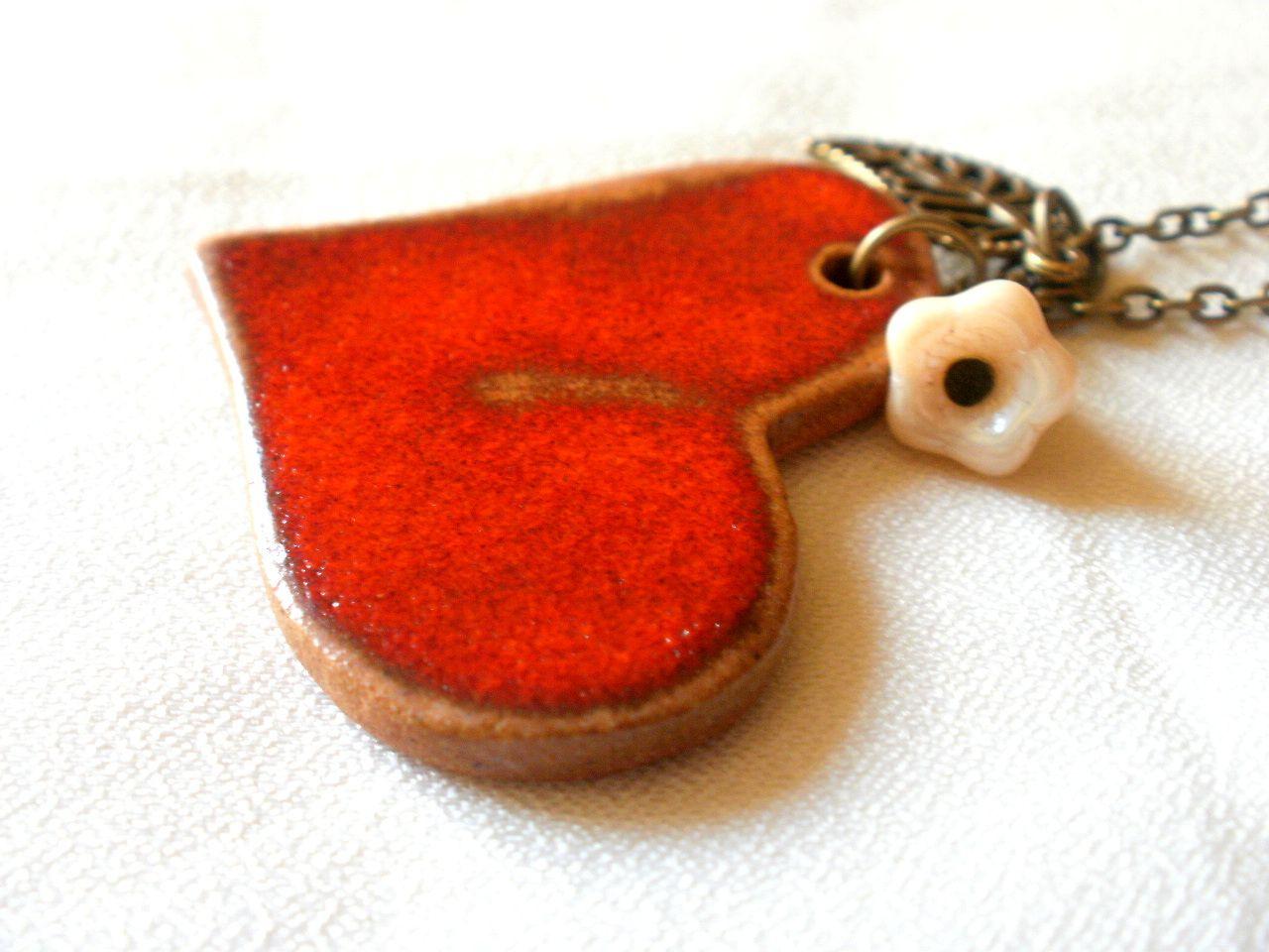 Glazed ceramics medal