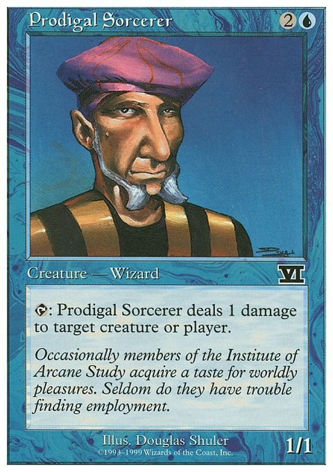 MTG Prodigal Sorcerer Collector/'s Edition NM Unplayed