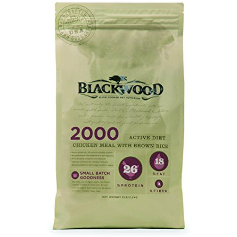 Blackwood pet food 22224 2000 active diet chicken meal