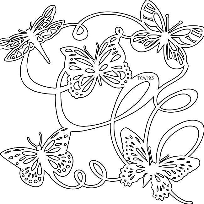 The Crafters Workshop Butterfly Ballet Template Ballet, The o\u0027jays