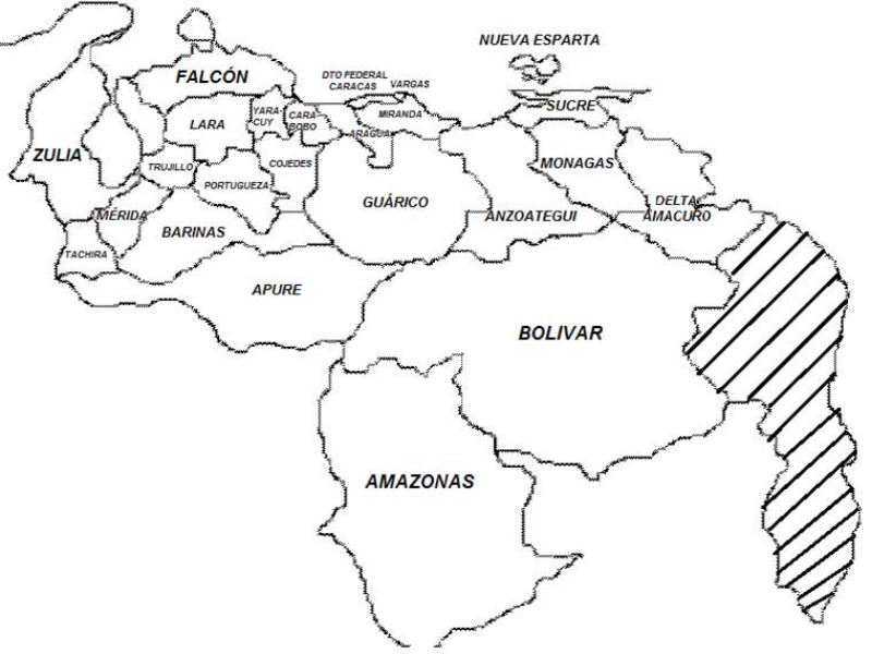 Resultado de imagen para imagenes del mapa de venezuela | mapas del ...