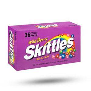 Delicious Skittles in a great wild berry flavor. gluten-free  Wild berry, Skittles, Berries