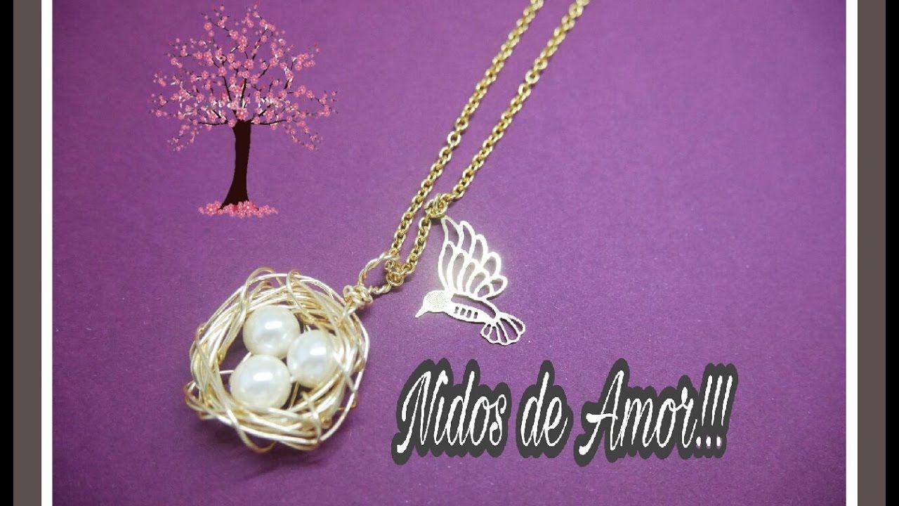 8256c47ec978 NIDO DE AMOR!! Con Cecy Love Bisuteria