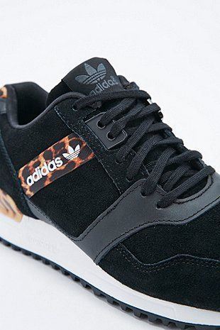 626a8ae10 Adidas ZX 700 Trainers in Leopard Print and Black - Urban Outfitters