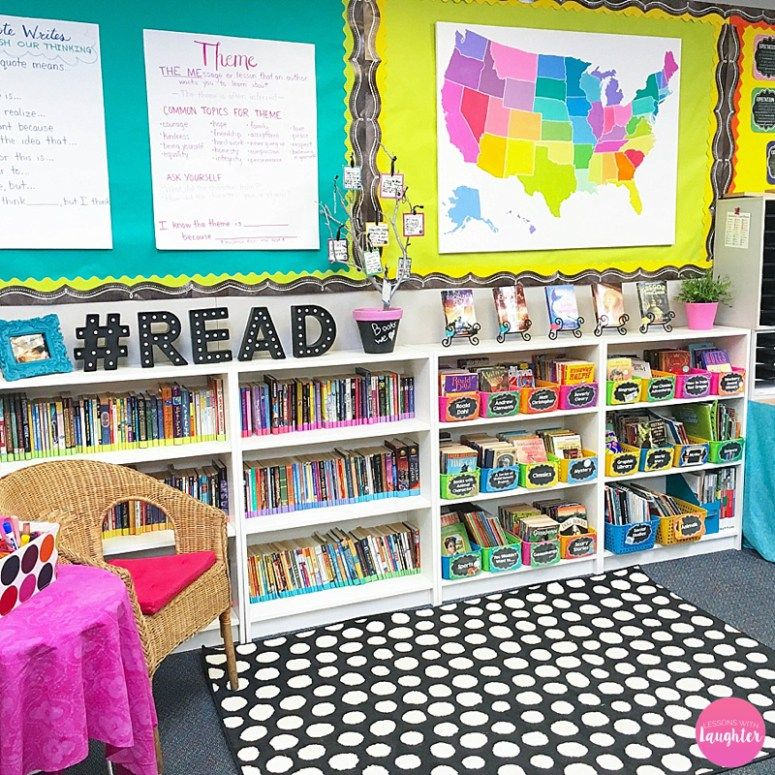 Classroom Decor And Organization ~ Classroom library organization decor