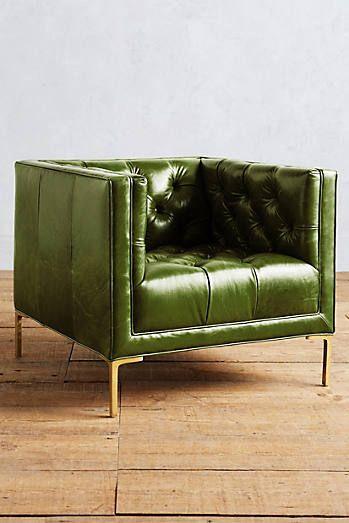 Premium Leather Mina Armchair