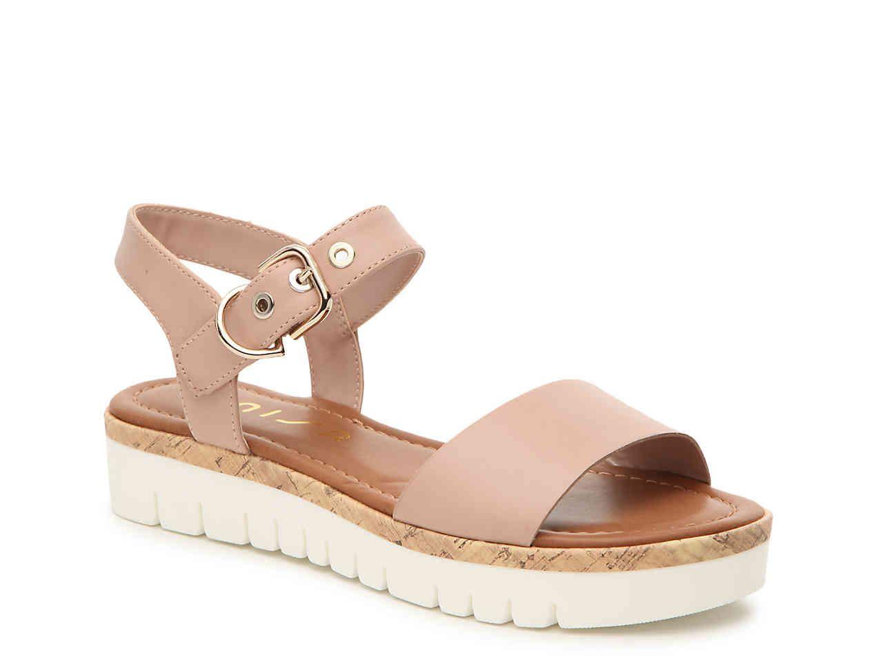Unisa Breiza Platform Sandal   Luxury