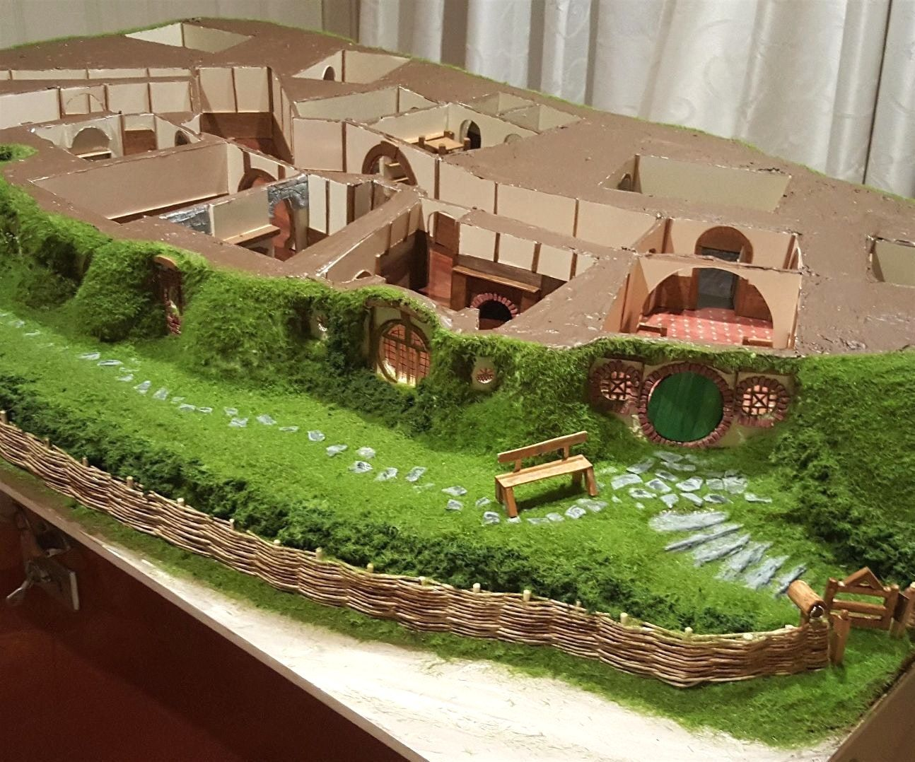 Image result for hobbit house plans also agujero rh co pinterest