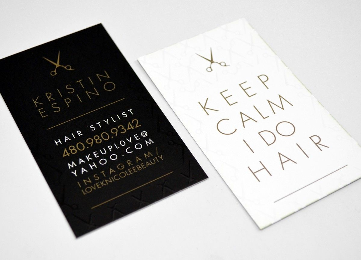 Pix For > Hair Stylist Business Card Quotes | business card ideas ...