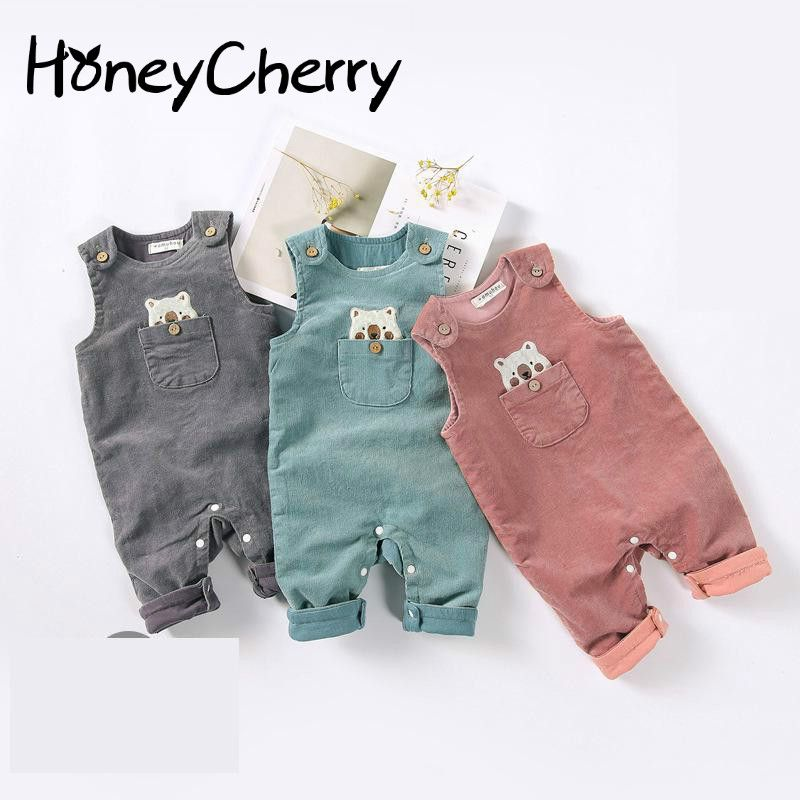 31e463935ee8d New winter Suspenders For 2019 Baby Jumpsuit Newborn Baby Clothes ...