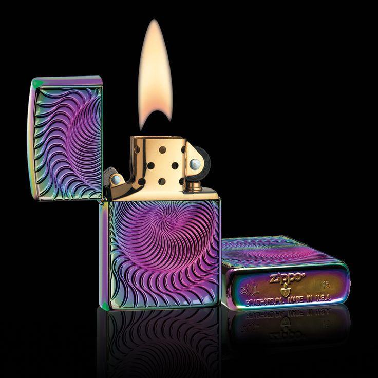 Rare Zippo Lighter Flame