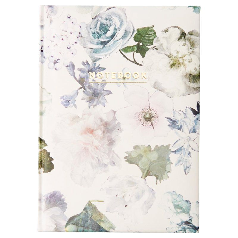 EMBOSSED JOURNAL, WINTER FLORAL IVORY by Indigo | Hard Cover Journals Gifts | chapters.indigo.ca