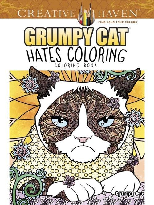 Creative Haven Grumpy Cat Hates Coloring Coloring Book