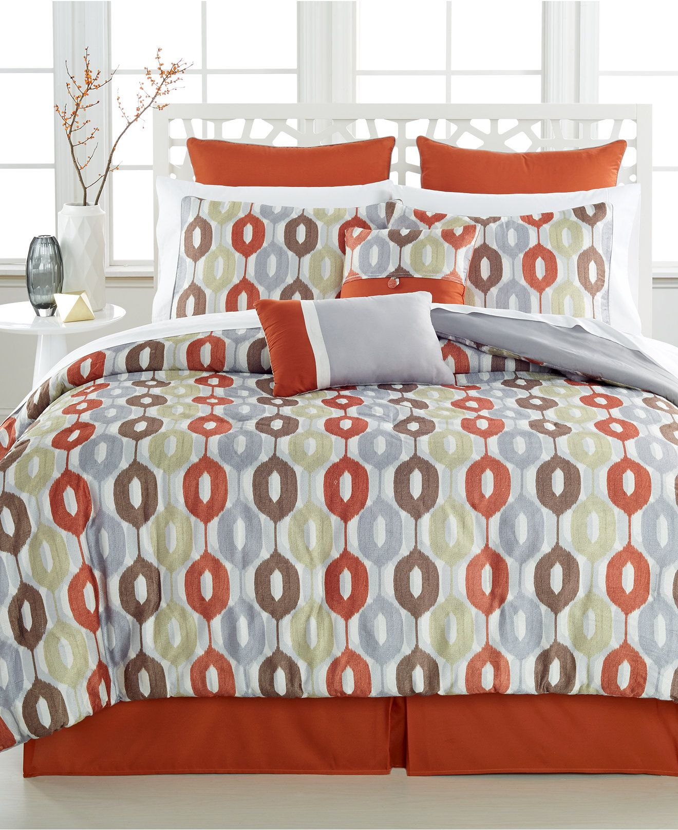 Manor Court 8-Pc.Comforter Sets - Bed in a Bag - Bed ...