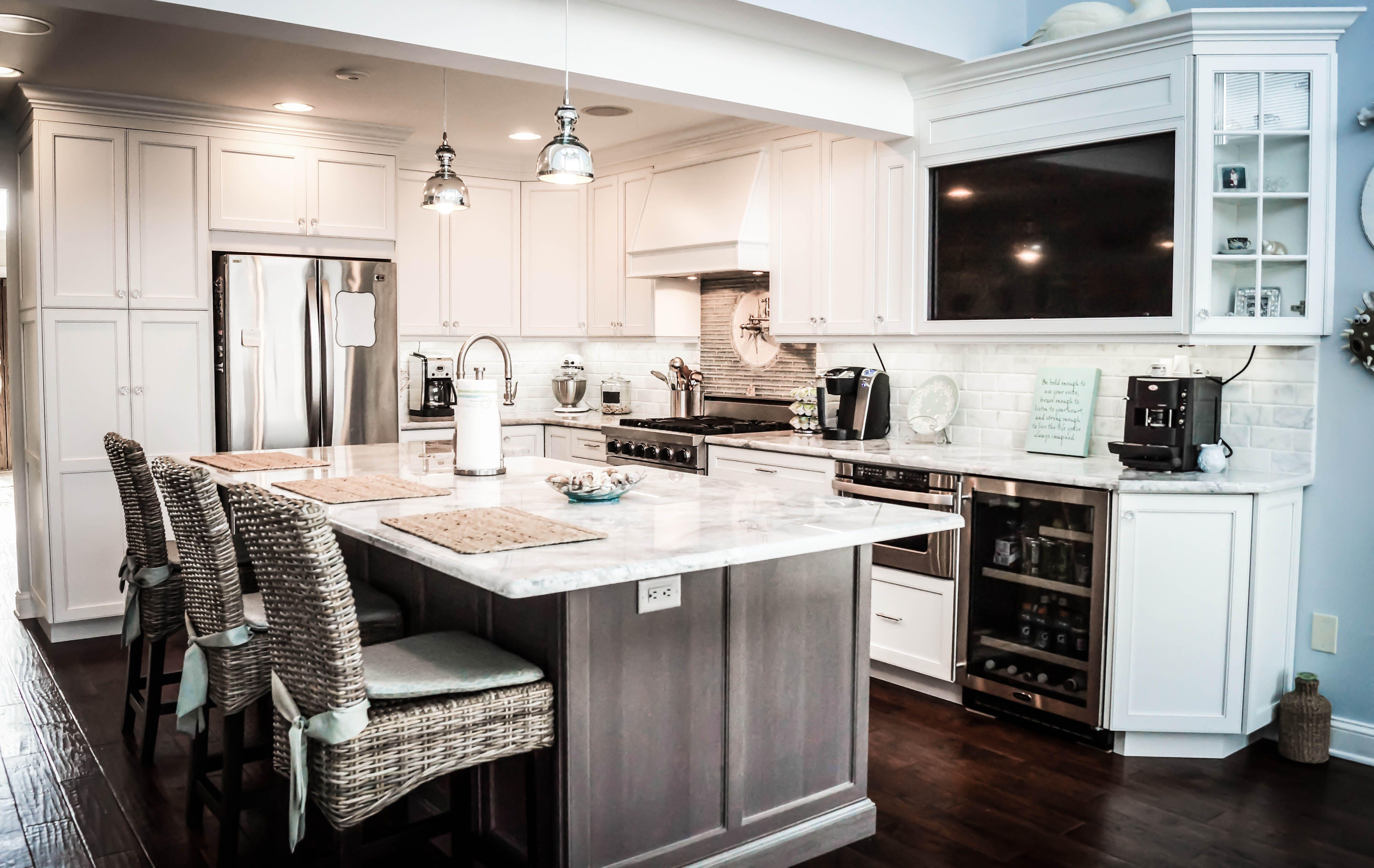 The Well Designed Kitchen in Brick   Wellness design ...
