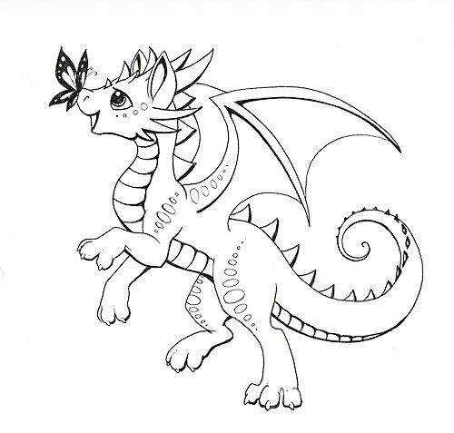Baby Dragon Coloring Page Free Printable Coloring Pages Dragon Coloring Page Cartoon Coloring Pages Baby Coloring Pages