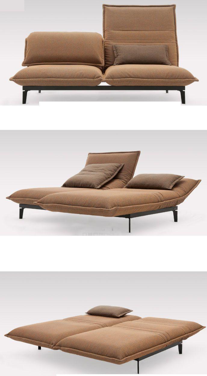 Jeden Z Moich Ulubionych Projektow Sofa Rolf Benz Nova Sofa Bed Design Convertible Furniture Geometric Furniture
