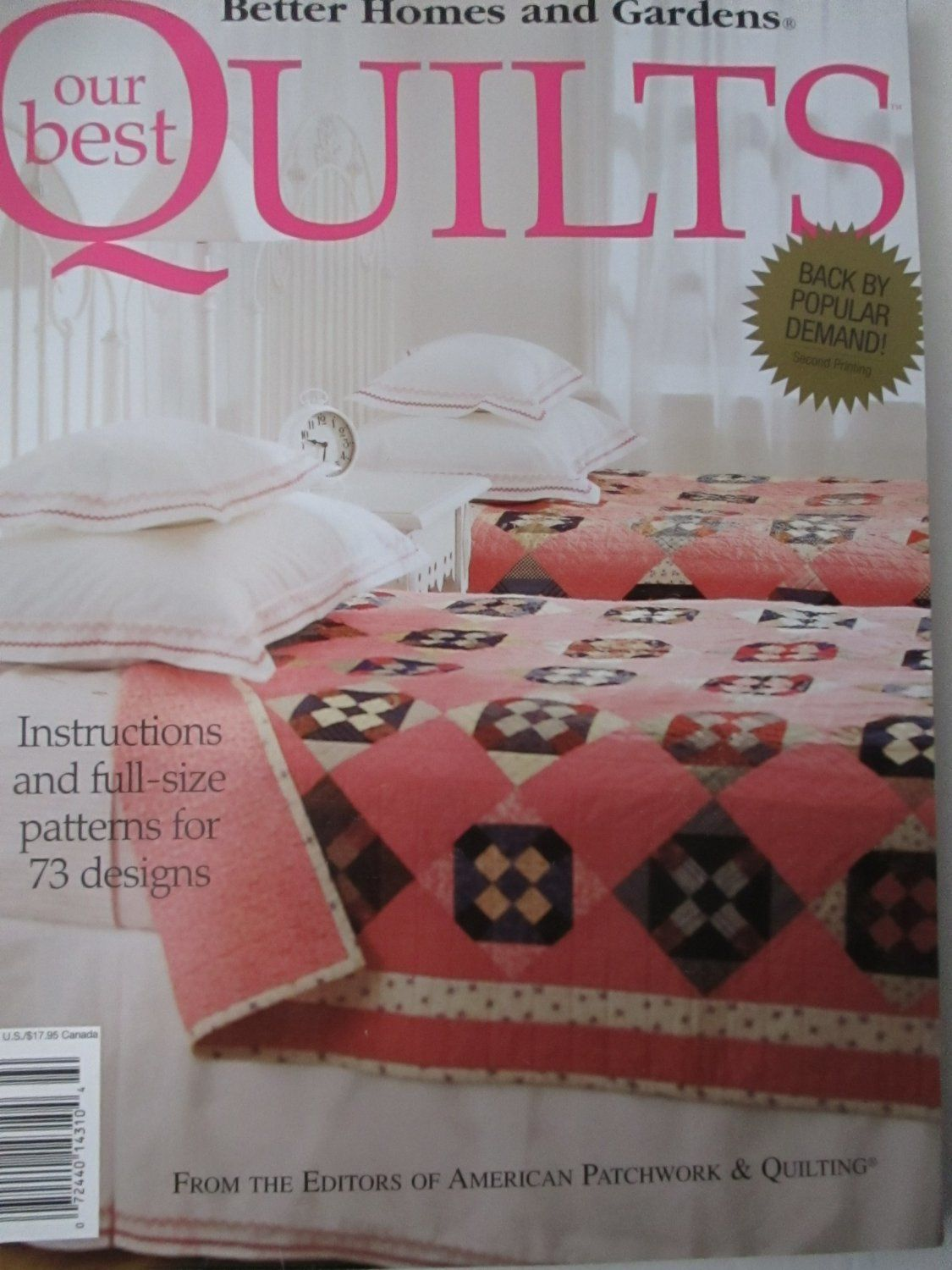 BETTER+HOMES+AND+GARDENS+OUR+BEST+QUILTS | Quilting Books ... : best quilting books - Adamdwight.com