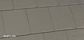 Babylon Horizon Concrete Roof Tile Concrete Roof Tiles Roof Tiles Roof