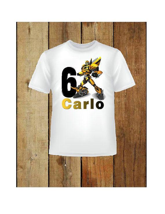 Hierro en transformadores abejorro camisa cumpleaños | Transformes ...