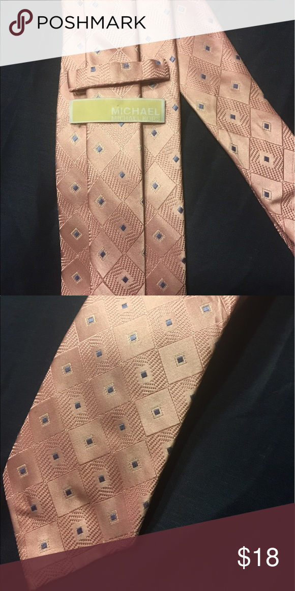 Michael Kors tie Perfect for Spring! Michael Kors Men's tie Michael Kors Accessories Ties