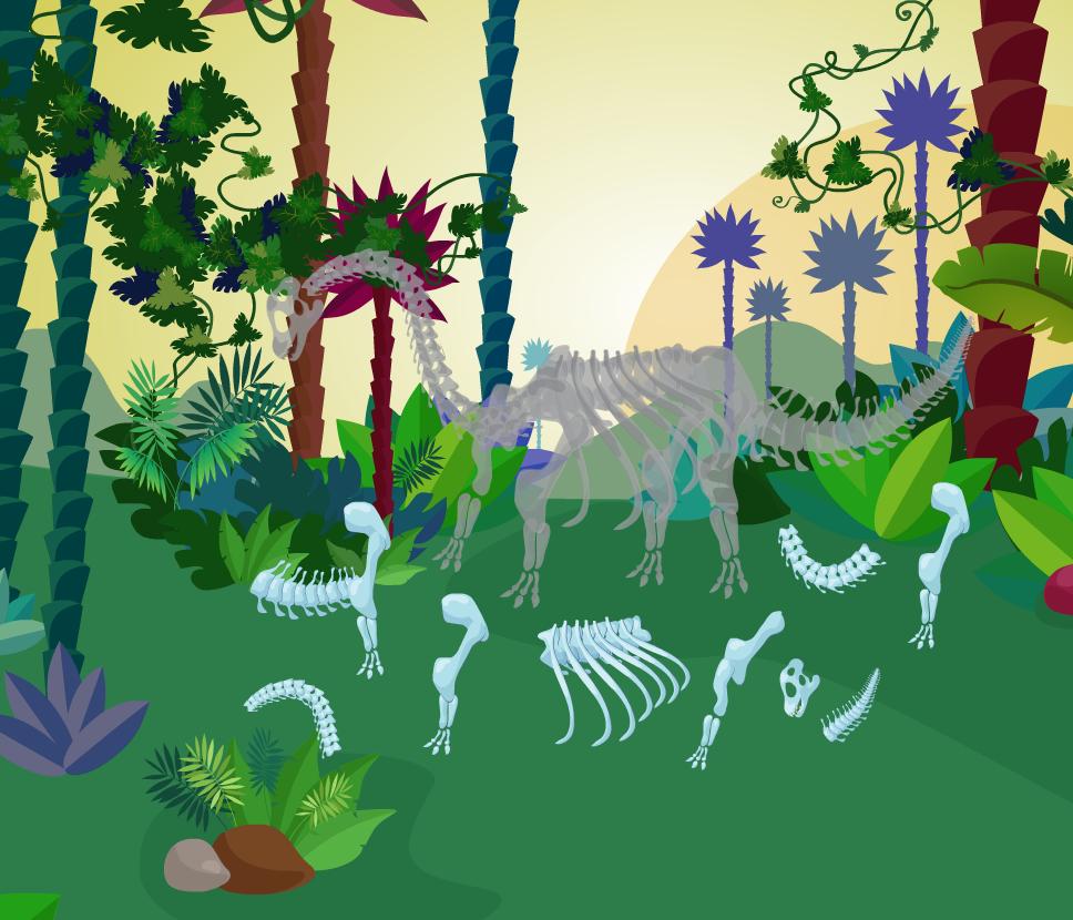 VUELVEN LOS DINOSAURIOS   Aprovechando la curiosidad y atracción que los niños sienten por los dinosaurios desarrollamos unas actividad...