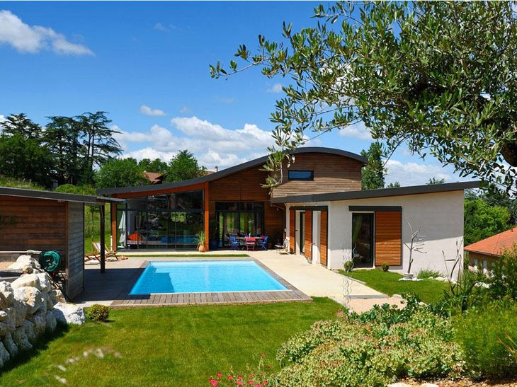 Construction maison bois sud de la france extension Pinterest
