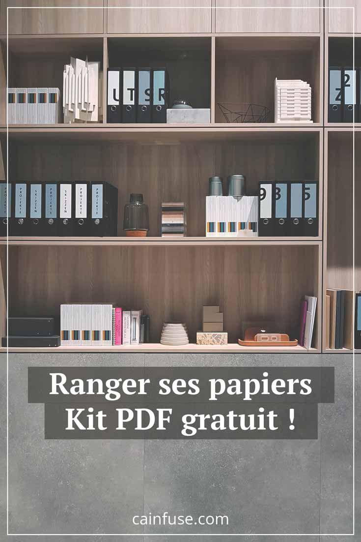Papiers Ranges Esprit Apaise Art De Vivre Bien Etre Spiritualite Rangement Papier Bureau Rangement Papier Administratif Organisation Maison