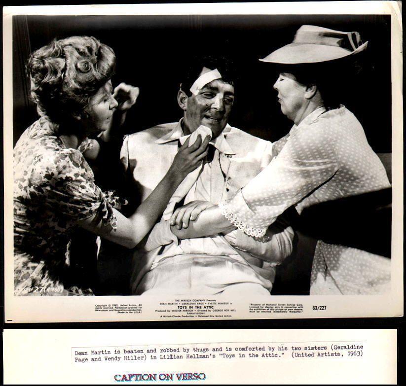 Dean Martin Toys In The Attic Movie Still 1963 Fn