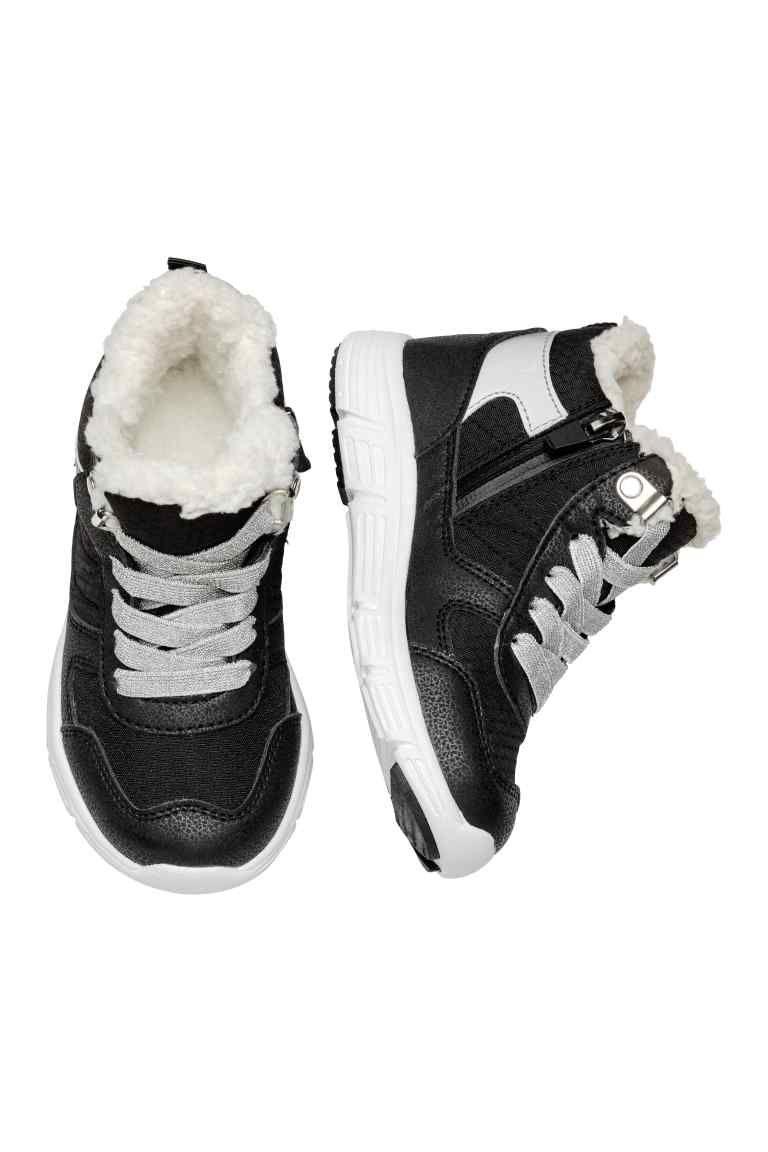 Wodoszczelne Buty Sportowe Czarny Dziecko H M Pl Black Kids Black Tops High Top Sneakers