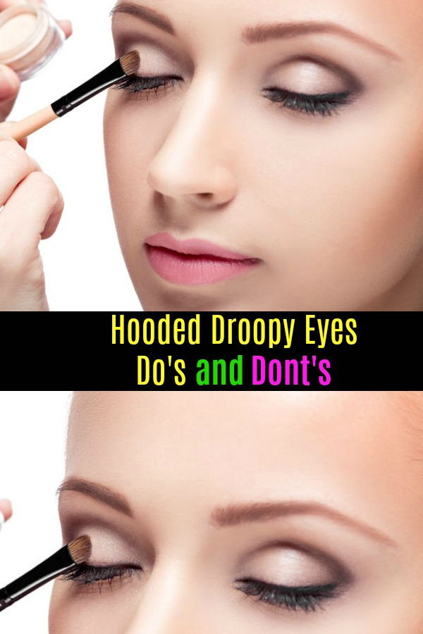 How To Use Makeup for Hooded Droopy Eyelids (With images