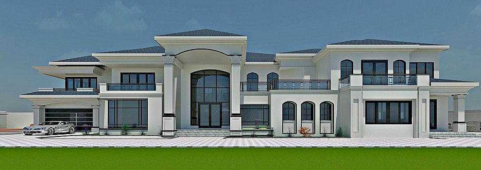 Banner Modern Style House Plans Beautiful House Plans House Plans