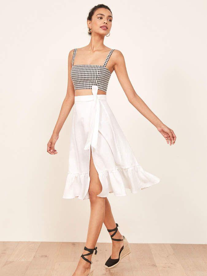 b78f23c2b20285 Reformation Date Skirt | Reformation | Fashion, Skirts, Fashion dresses