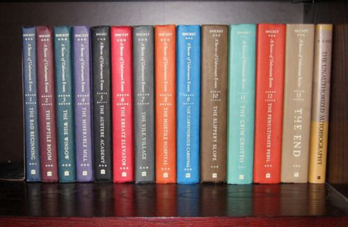 A Series of Unfortunate Events. Awesome book series