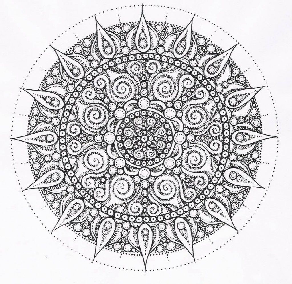 Ooooooo Abstract Coloring Pages Mandala Coloring Pages Mandala Coloring