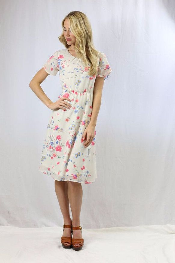 Modest Caroline Dress – ModestPop.com