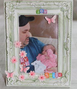 Photo frame for son and his youngest