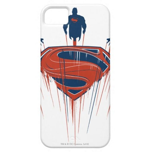 Superman SShield With Jets iPhone 5 Cover Iphone case