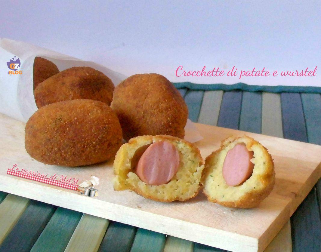 Crocchette di patate e wurstel fritte o in forno for Cucinare wurstel
