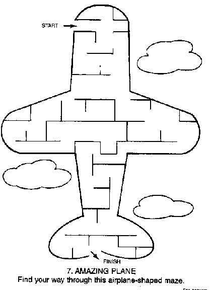 Maze Page - Print your free maze at AllKidsNetwork.com ...