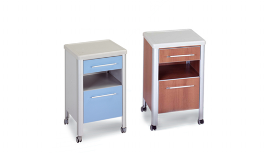 Muka Mac 305 Bedside Cabinet With Antibacterial Polymer Top