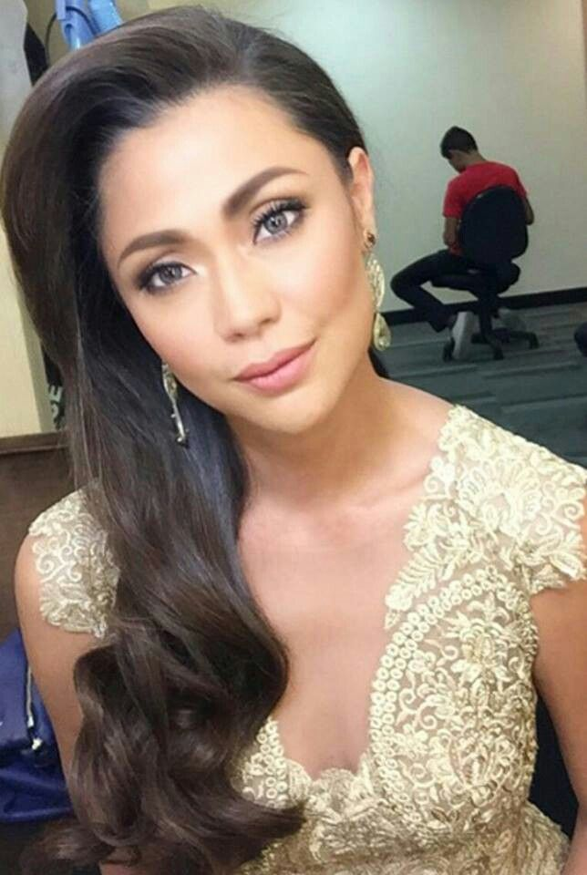 Jodi Sta Maria Filipina Beauty Asian Celebrities Hairstyle