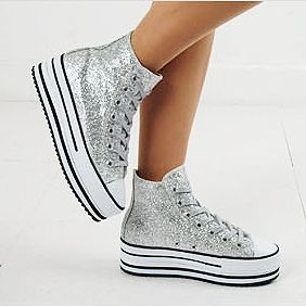 SSPWS = Shiny Sneakers Platform Wedge Sneakers
