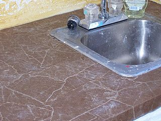 Cover An Old Countertop With Paper Bags And Elmers Glue Tutorial This Is Awesome Home Cleaning Remedies Trailer Decor Brown Paper Bag