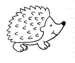 afbeeldingsresultaat voor egel tekening met afbeeldingen