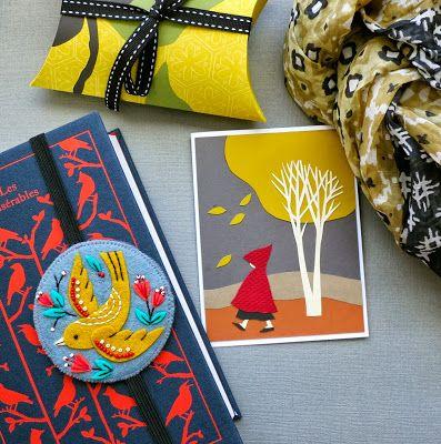 mmmcrafts: felt bookmark for Robyn